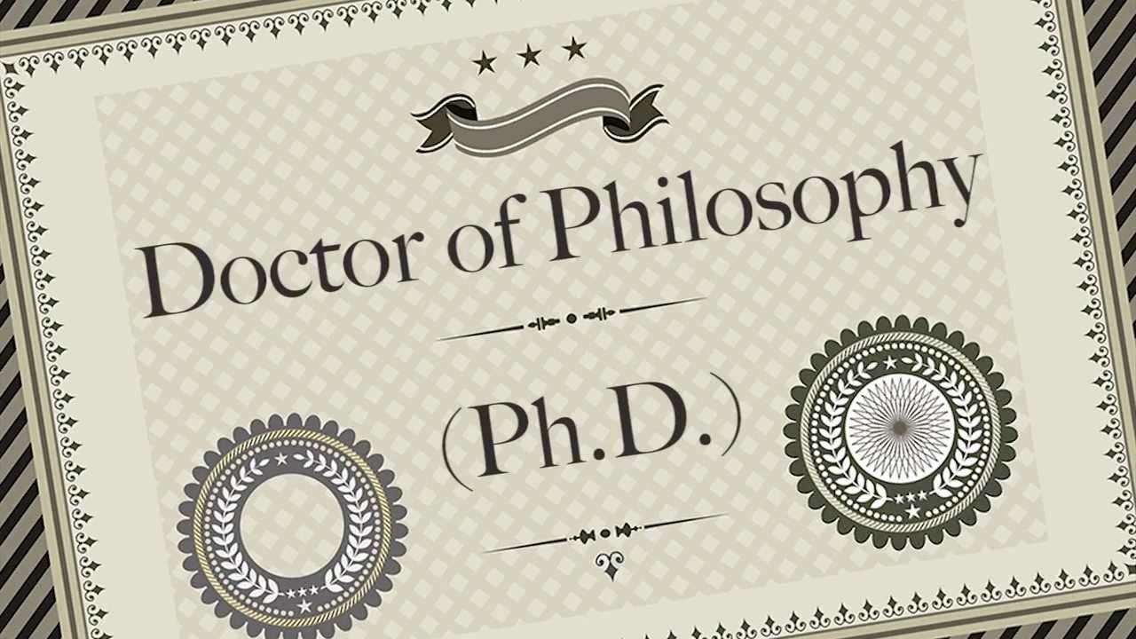 кандидат наук - это не Ph.D.